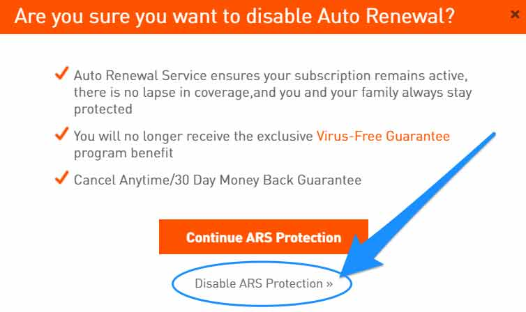 Account Select Disable ARS Protection.jpg